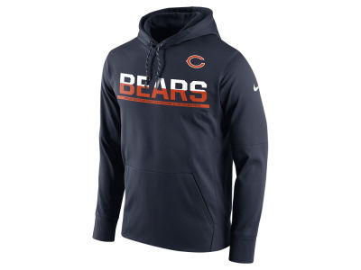 Chicago Bears Nike NFL Men's Circuit Pullover Hoodie