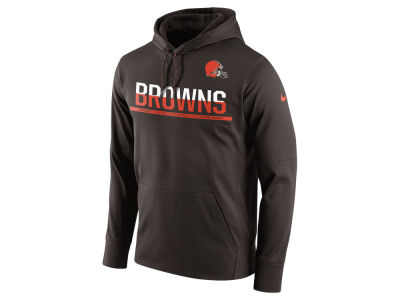 Cleveland Browns Nike NFL Men's Circuit Pullover Hoodie