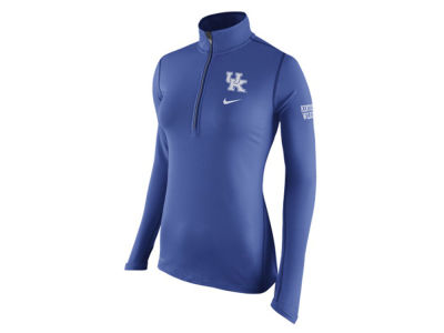 Kentucky Wildcats Nike NCAA Womens Tailgate Element Half Zip Shirt