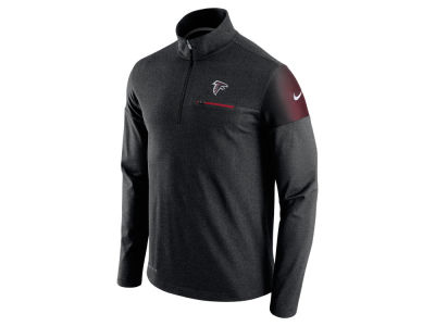 Atlanta Falcons Nike NFL Men's Elite Coaches 1/4 Zip Pullover