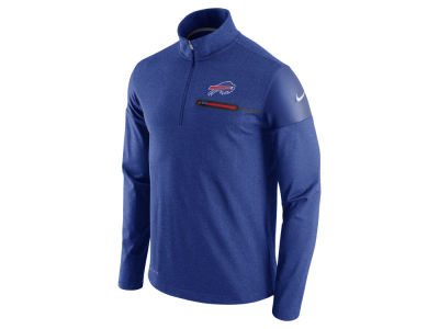 Buffalo Bills Nike NFL Men's Elite Coaches 1/4 Zip Pullover