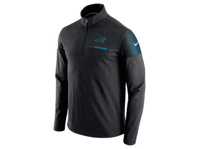 Carolina Panthers Nike NFL Men's Elite Coaches 1/4 Zip Pullover