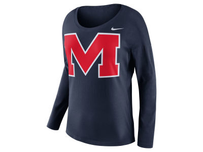 Ole Miss Rebels Nike NCAA Women's Tailgate Long Sleeve Top