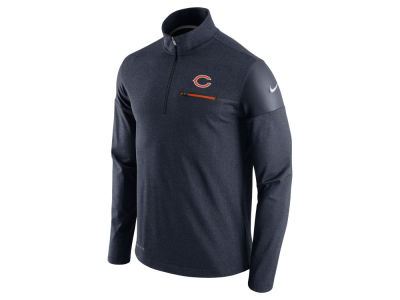 Chicago Bears Nike NFL Men's Elite Coaches 1/4 Zip Pullover