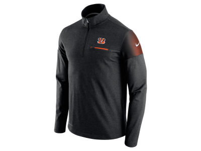 Cincinnati Bengals Nike NFL Men's Elite Coaches 1/4 Zip Pullover