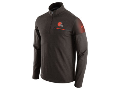 Cleveland Browns Nike NFL Men's Elite Coaches 1/4 Zip Pullover