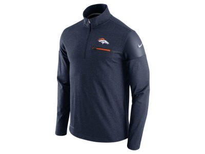 Denver Broncos Nike NFL Men's Elite Coaches 1/4 Zip Pullover