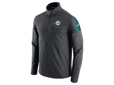 Miami Dolphins Nike NFL Men's Elite Coaches 1/4 Zip Pullover