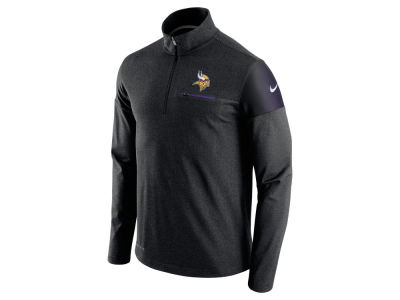 Minnesota Vikings Nike NFL Men's Elite Coaches 1/4 Zip Pullover