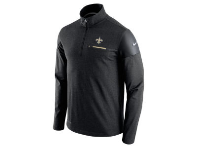 New Orleans Saints Nike NFL Men's Elite Coaches 1/4 Zip Pullover