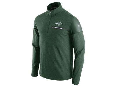 New York Jets Nike NFL Men's Elite Coaches 1/4 Zip Pullover