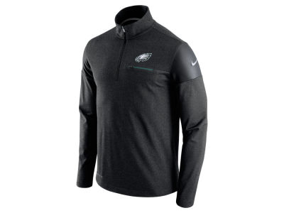 Philadelphia Eagles Nike NFL Men's Elite Coaches 1/4 Zip Pullover