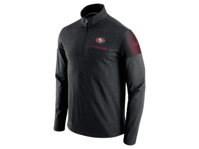 San Francisco 49ers Nike NFL Men's Elite Coaches 1/4 Zip Pullover