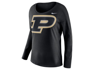 Purdue Boilermakers Nike NCAA Women's Tailgate Long Sleeve Top