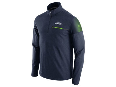 Seattle Seahawks Nike NFL Men's Elite Coaches 1/4 Zip Pullover