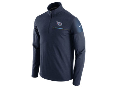 Tennessee Titans Nike NFL Men's Elite Coaches 1/4 Zip Pullover