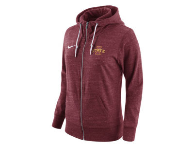 Iowa State Cyclones Nike NCAA Women's Tailgate Gym Vintage Full Zip Hoodie