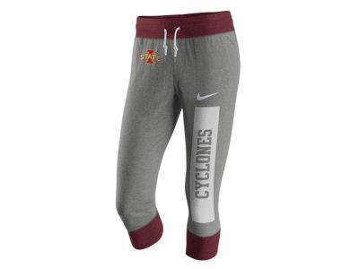 Iowa State Cyclones Nike NCAA Women's Tailgate Gym Vintage Capri Pants