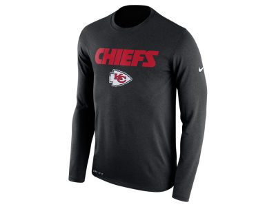 Kansas City Chiefs Nike NFL Men's Essential Lock Up Long Sleeve T-Shirt