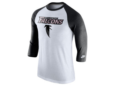 Atlanta Falcons Nike NFL Men's Historic Tri Raglan T-Shirt