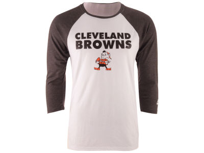 Cleveland Browns Nike NFL Men's Historic Tri Raglan T-Shirt