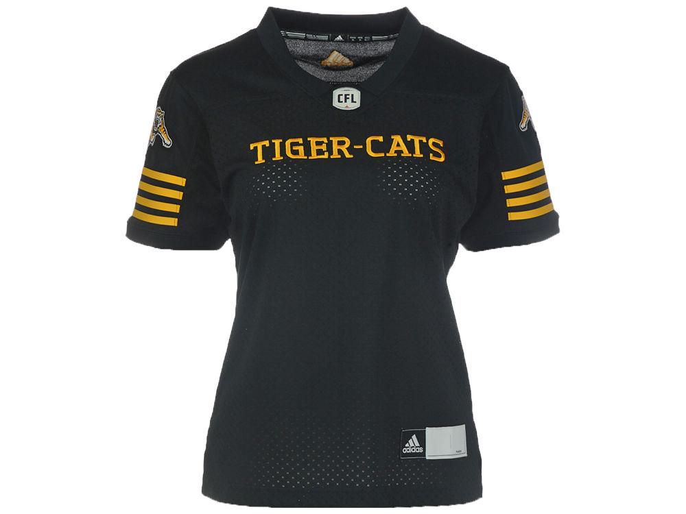 Hamilton Tiger-Cats adidas CFL Women s New Premier Jersey  a9610eebc
