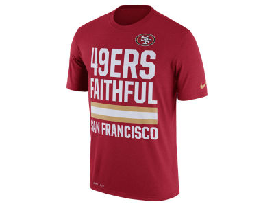 San Francisco 49ers Nike NFL Men's Local Fans T-Shirt