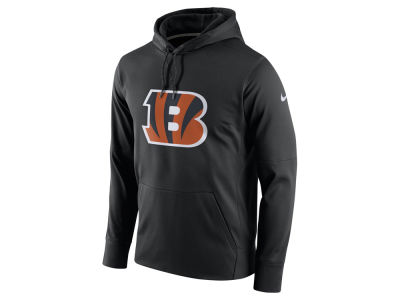 Cincinnati Bengals Nike NFL Men's Performance Circuit Logo Essential Hoodie