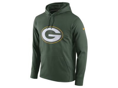 Green Bay Packers Nike NFL Men's Performance Circuit Logo Essential Hoodie
