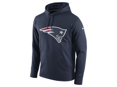 New England Patriots Nike NFL Men's Performance Circuit Logo Essential Hoodie