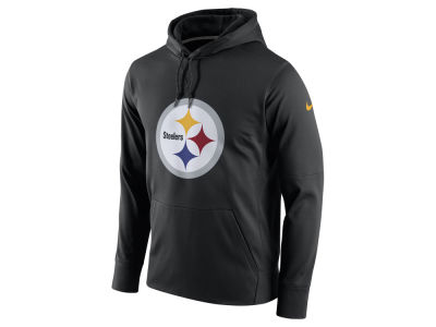 Pittsburgh Steelers Nike NFL Men's Performance Circuit Logo Essential Hoodie