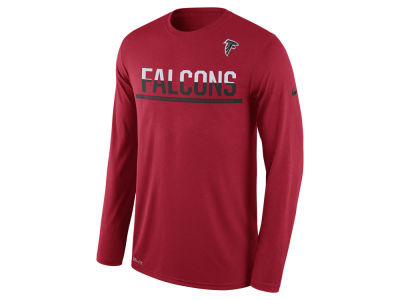Atlanta Falcons Nike NFL Men's Team Practice Long Sleeve T-Shirt