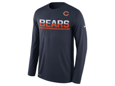 Chicago Bears Nike NFL Men's Team Practice Long Sleeve T-Shirt
