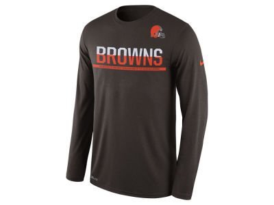 Cleveland Browns Nike NFL Men's Team Practice Long Sleeve T-Shirt
