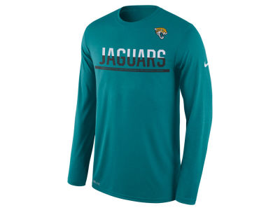 Jacksonville Jaguars Nike NFL Men's Team Practice Long Sleeve T-Shirt