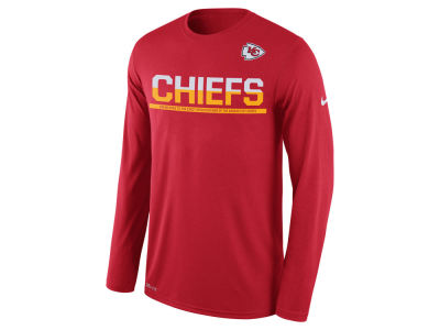 Kansas City Chiefs Nike NFL Men's Team Practice Long Sleeve T-Shirt