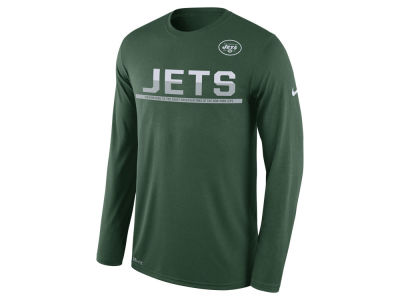 New York Jets Nike NFL Men's Team Practice Long Sleeve T-Shirt