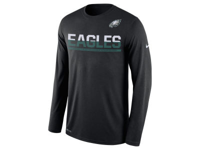 Philadelphia Eagles Nike NFL Men's Team Practice Long Sleeve T-Shirt