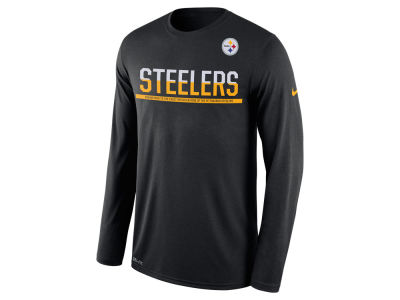 Pittsburgh Steelers Nike NFL Men's Team Practice Long Sleeve T-Shirt