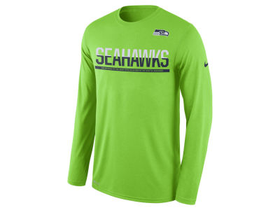 Seattle Seahawks Nike NFL Men's Team Practice Long Sleeve T-Shirt
