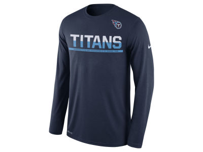 Tennessee Titans Nike NFL Men's Team Practice Long Sleeve T-Shirt