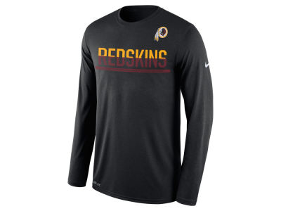 Washington Redskins Nike NFL Men's Team Practice Long Sleeve T-Shirt