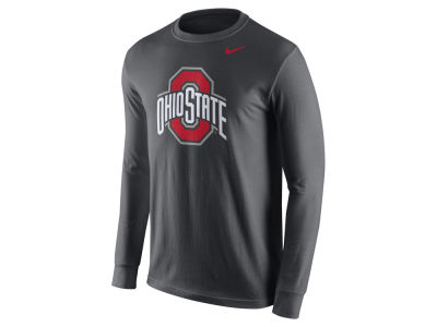 Ohio State Buckeyes Nike NCAA Men's Cotton Logo Long Sleeve T-Shirt