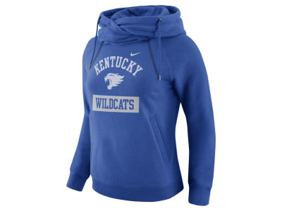 Kentucky Wildcats Nike NCAA Women's Tailgate Funnel Hoodie