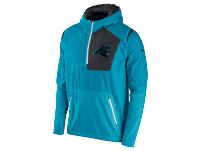 Carolina Panthers Nike NFL Men's Vapor Speed Fly Rush Pullover Jacket