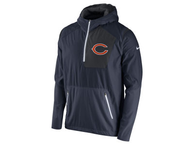 Chicago Bears Nike NFL Men's Vapor Speed Fly Rush Pullover Jacket