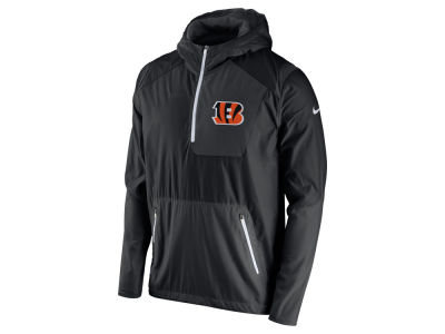 Cincinnati Bengals Nike NFL Men's Vapor Speed Fly Rush Pullover Jacket