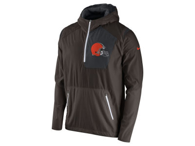 Cleveland Browns Nike NFL Men's Vapor Speed Fly Rush Pullover Jacket