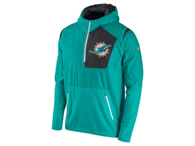 Miami Dolphins Nike NFL Men's Vapor Speed Fly Rush Pullover Jacket