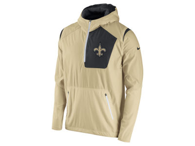 New Orleans Saints Nike NFL Men's Vapor Speed Fly Rush Pullover Jacket